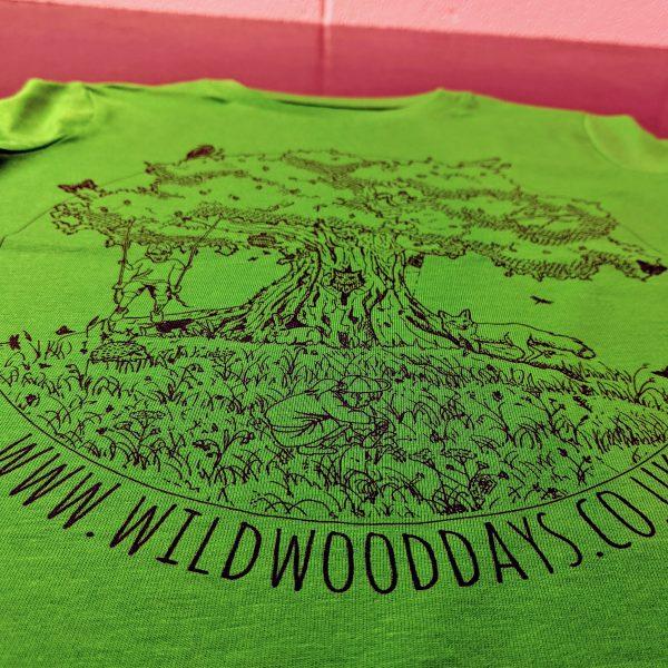 wild wood days tshirt